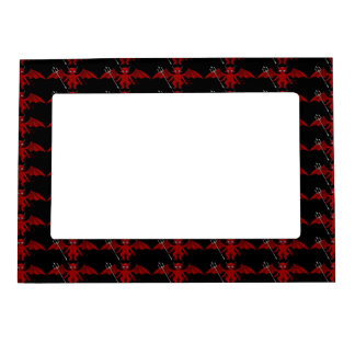 Little Red Devil Thunder_Cove Magnetic Picture Frame