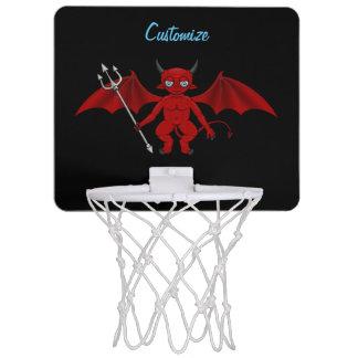 Little Red Devil Thunder_Cove Mini Basketball Hoop