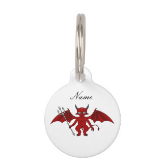 Little Red Devil Thunder_Cove Pet ID Tag