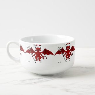 Little Red Devil Thunder_Cove Soup Mug