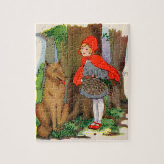 Little Red Riding Hood and the Wolf Jigsaw Puzzle