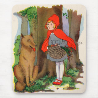 Little Red Riding Hood and the Wolf Mouse Pad