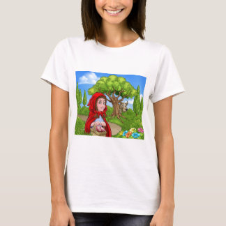 Little Red Riding Hood and Wolf Scene T-Shirt