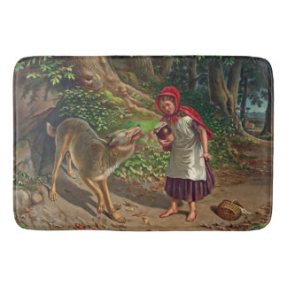 Little red riding hood bathroom mat