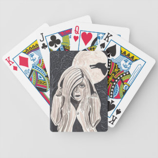 Little Red Riding Hood Bicycle Playing Cards