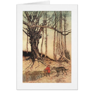 Little Red Riding Hood (Blank Inside) Card