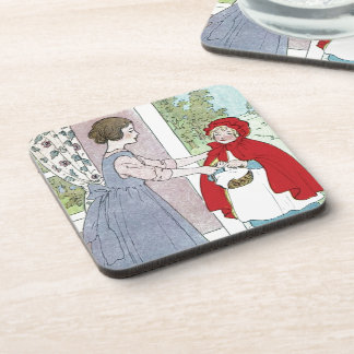 Little Red Riding Hood: Bring This To Grandma Coaster