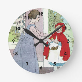 Little Red Riding Hood: Bring This To Grandma Wallclock