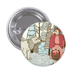 Little Red Riding Hood Pin