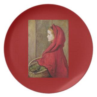 Little Red Riding Hood  by John Everett Millais Plate