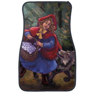 Little Red Riding Hood Car Floor Carpet
