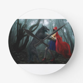 Little Red Riding Hood Clock