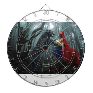 Little Red Riding Hood Dartboard With Darts