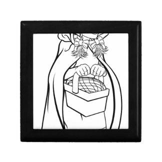 Little Red Riding Hood Fairy Tale Cartoon Gift Box