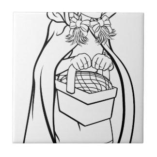 Little Red Riding Hood Fairy Tale Cartoon Tile