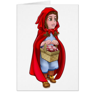 Little Red Riding Hood Fairy Tale Character Card