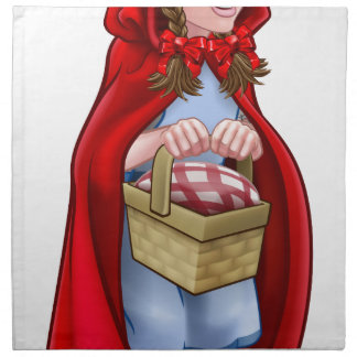 Little Red Riding Hood Fairy Tale Character Napkin