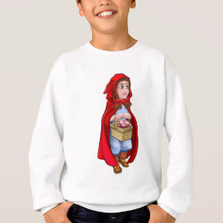 Little Red Riding Hood Fairy Tale Character Sweatshirt