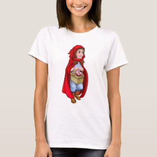 Little Red Riding Hood Fairy Tale Character T-Shirt