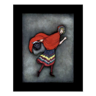 Little Red Riding Hood ~ Fairy Tales ~Classic ~ Poster
