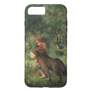 Little Red Riding Hood, fine art painting iPhone 8 Plus/7 Plus Case