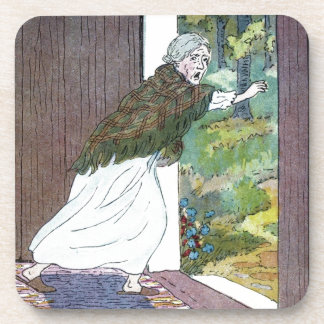 Little Red Riding Hood: Grandma Ran Out Drink Coaster