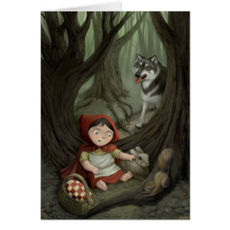 Little Red Riding Hood Greeting Card