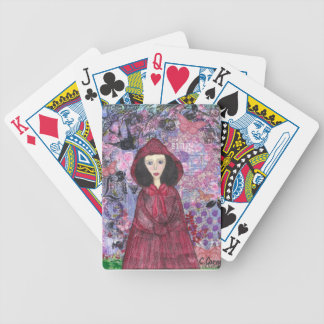Little Red Riding Hood in the Woods 001.jpg Bicycle Playing Cards