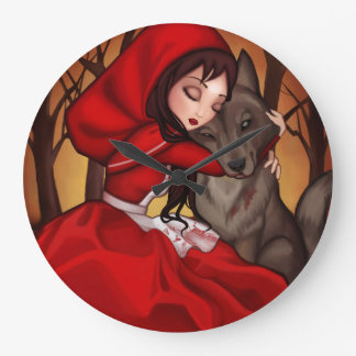 Little Red Riding Hood Large Clock