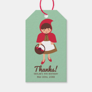 Little Red Riding Hood Pack Of Gift Tags