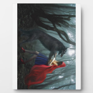Little Red Riding Hood Photo Plaque