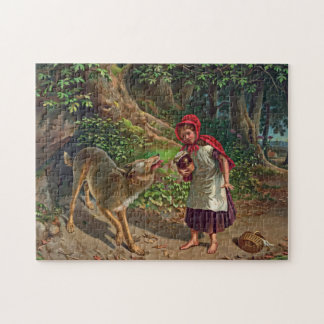 Little red riding hood puzzles