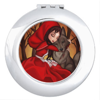 Little Red Riding Hood Travel Mirror