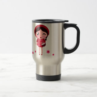 Little Red Riding Hood Travel Steel Mug