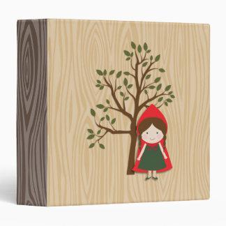 Little Red Riding Hood Vinyl Binder
