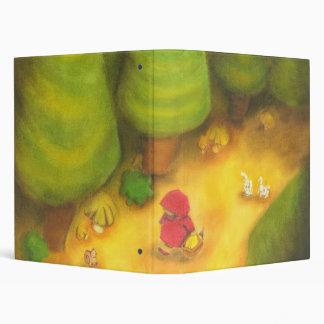 Little Red Riding Hood Vinyl Binders