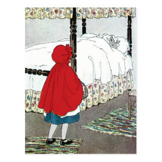 Little Red Riding Hood: What Grat Ears You Have! Postcard
