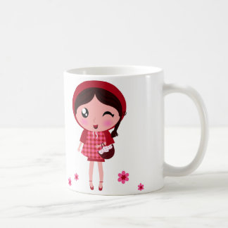 Little Red Riding Hood Winking Eye Coffee Mug