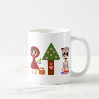 Little Red Riding Hoods Picnic Coffee Mug