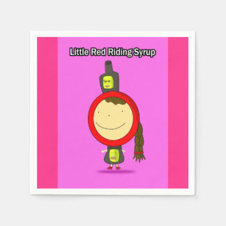 Little Red Riding Syrup Paper Napkins