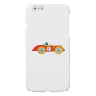 Little Red Roadster Racing Car Child 1st Birthday