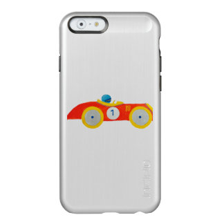 Little Red Roadster Racing Car Child 1st Birthday Incipio Feather® Shine iPhone 6 Case
