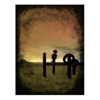 Little Red Robot Postcard