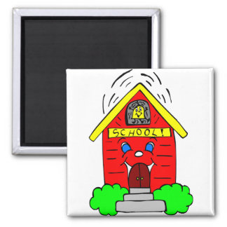 Little Red Schoolhouse Magnet