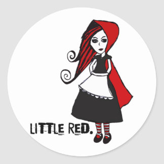 'Little Red' Stickers
