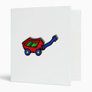 little red wagon 3 ring binders