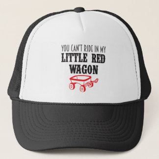 little red wagon.pdf trucker hat
