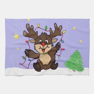 Little Reindeer Kitchen Towels