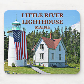 Little River Lighthouse, Maine Mousepad
