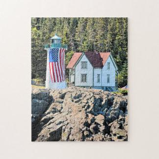 Little River Lighthouse, Maine Puzzle